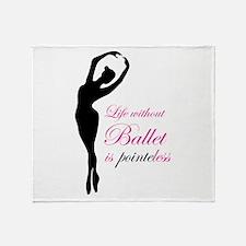 Ballet Throw Blanket