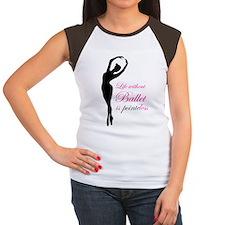Ballet Women's Cap Sleeve T-Shirt