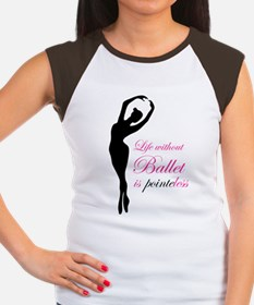 Ballet Women's Cap Sleeve T-Shirt