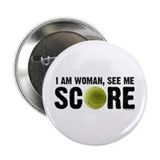 "See Me Score Tennis 2.25"" Button"
