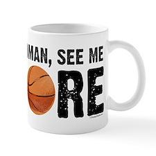 See Me Score Basketball Mug
