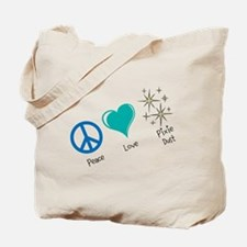 Peace, Love, Pixie Dust - Tote Bag