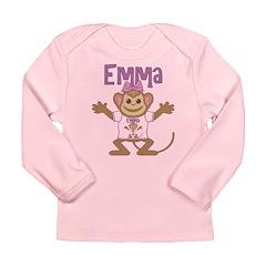 Little Monkey Emma Long Sleeve Infant T-Shirt
