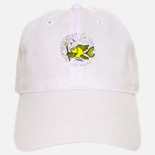 Make a wish Fish Baseball Baseball Cap