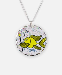 Make a wish Fish Necklace