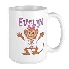 Little Monkey Evelyn Mug