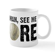 See Me Score Softball Mug