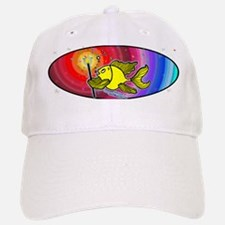 Magic Fireworks Fish Oval Baseball Baseball Cap