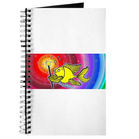 Make a wish fish Fireworks Journal