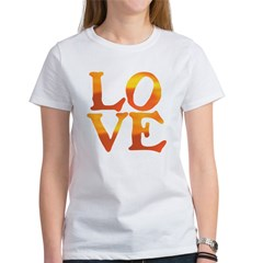 LOVE ON FIRE II Women's T-Shirt