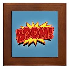 Boom! Framed Tile