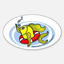 Help Fish Decal