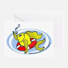 Help Fish Greeting Card