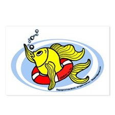 Help Fish Postcards (Package of 8)