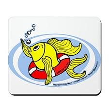 Help Fish Mousepad