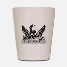 The Lukas Rossi Skull Logo Se Shot Glass