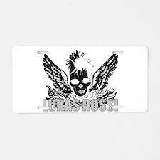 The Lukas Rossi Skull Logo Se Aluminum License Pla