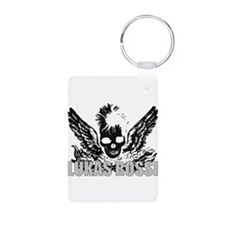 The Lukas Rossi Skull Logo Se Keychains