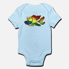 Rainbow Fish Infant Bodysuit