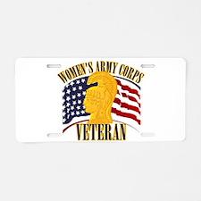 WAC Veteran Aluminum License Plate