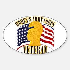WAC Veteran Decal