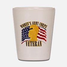 WAC Veteran Shot Glass