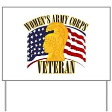 WAC Veteran Yard Sign