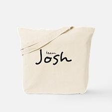 Team Josh (2) Tote Bag