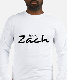Team Zach (2) Long Sleeve T-Shirt