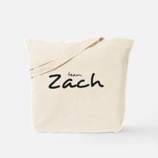 Team Zach (2) Tote Bag