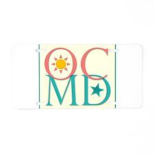 Ocean City, MD Aluminum License Plate