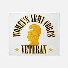 WAC Veteran Throw Blanket
