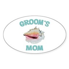 Island Groom's Mom Decal