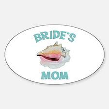 Island Bride's Mom Decal