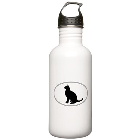 Burmese Silhouette Stainless Water Bottle 1.0L