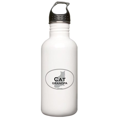 House Cat Grandpa Stainless Water Bottle 1.0L
