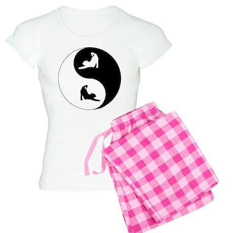 Yin Yang Cat Women's Light Pajamas