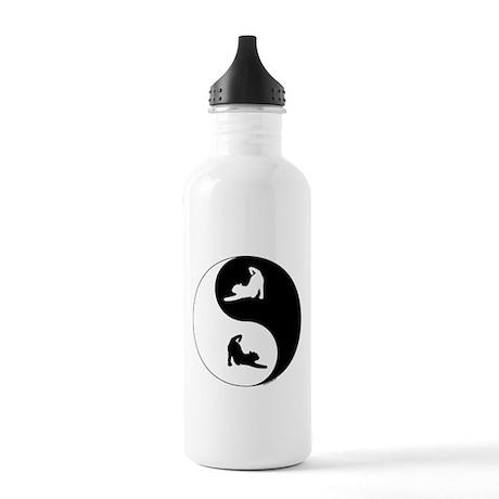 Yin Yang Cat Stainless Water Bottle 1.0L
