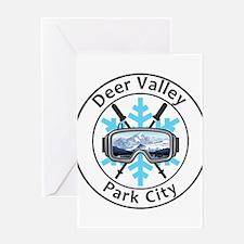 Deer Valley - Park City - Utah Greeting Cards