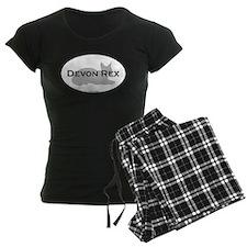 Devon Rex Oval Pajamas