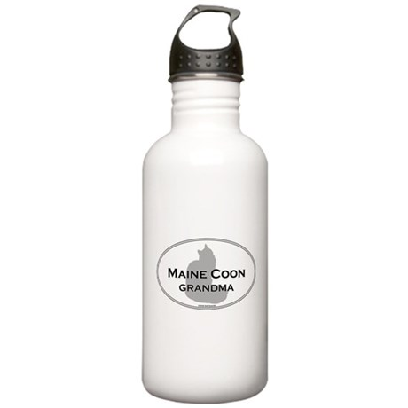 Maine Coon Grandma Stainless Water Bottle 1.0L
