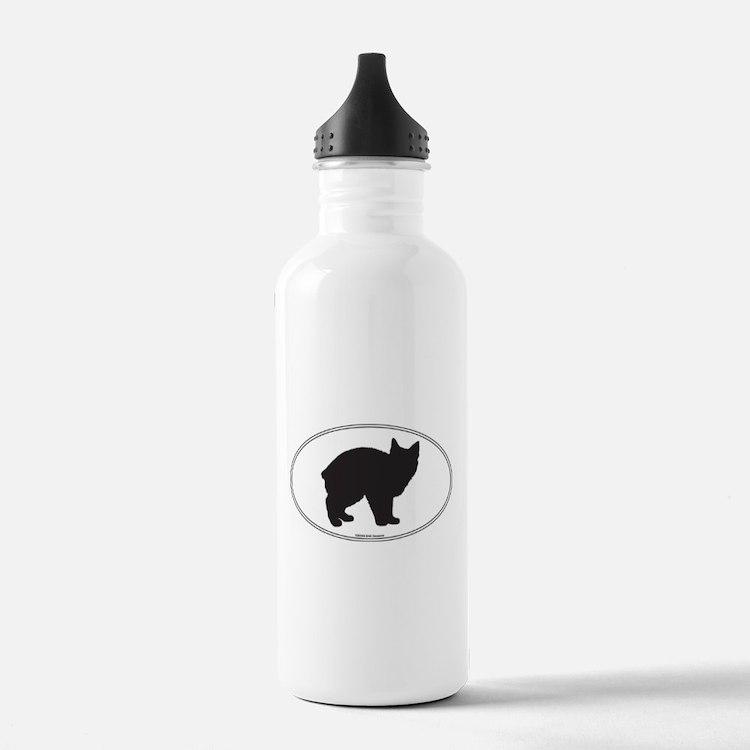 Manx Silhouette Water Bottle
