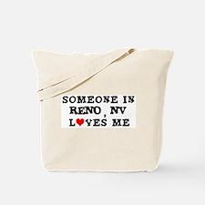 Someone in Reno Tote Bag