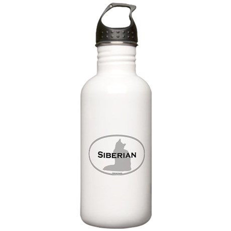 Siberian Oval Stainless Water Bottle 1.0L