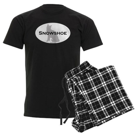 Snowshoe Oval Men's Dark Pajamas