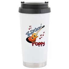 ROCKIN POPPY Travel Mug