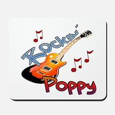 ROCKIN POPPY Mousepad