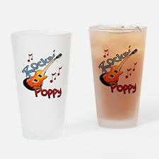 ROCKIN POPPY Drinking Glass