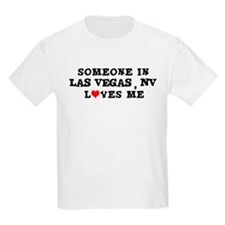Someone in Las Vegas Kids T-Shirt