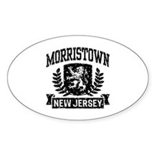 Morristown New Jersey Decal